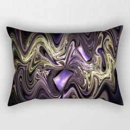 Surreal wavy fractal Rectangular Pillow