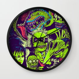 It's Showtime Wall Clock