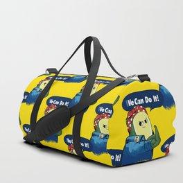 Vegan do It Avocado Duffle Bag