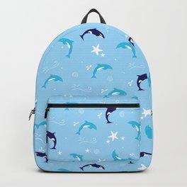 Sealife - Pale Blue Backpack