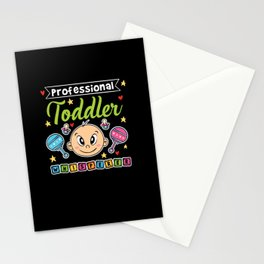 Professional Toddler Whisperer Stationery Cards