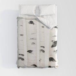 birch horizontal Duvet Cover