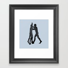 Molecule Man Framed Art Print