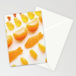 All About Orange Stationery Cards