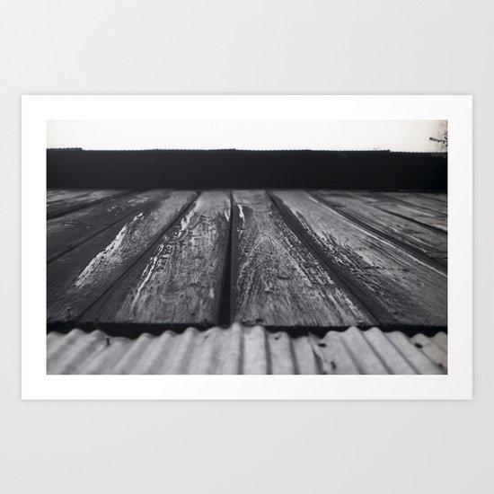 Long shot Art Print