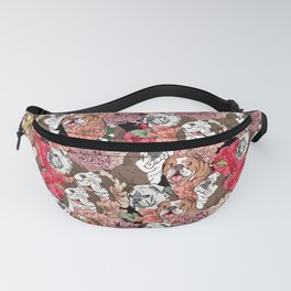 Because English Bulldog Fanny Pack