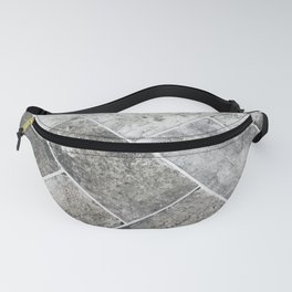 Gray tile II Fanny Pack