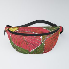 Christmas star Fanny Pack