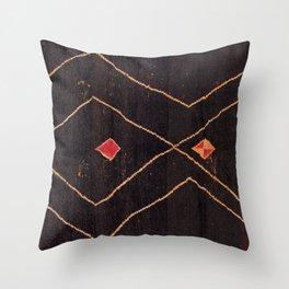 Feiija  Antique South Morocco North African Pile Rug Print Deko-Kissen