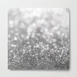 Abstract Defocused Background Metal Print