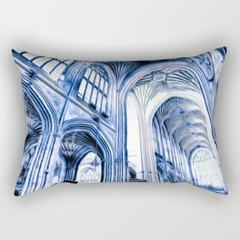 The Blue Abbey Rectangular Pillow
