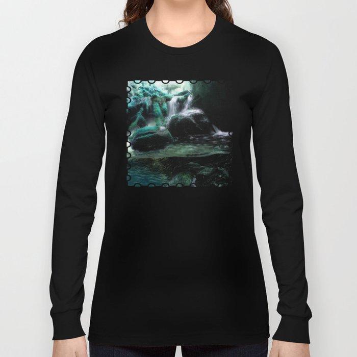 The Tourmaline Showers of the Underground Cavern Long Sleeve T-shirt