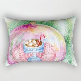 Warm reflection Rectangular Pillow