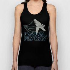 Casual Fly Day Unisex Tank Top