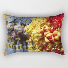 Asian tassles Rectangular Pillow