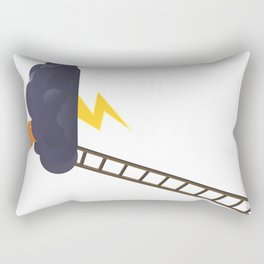 stormy glance Rectangular Pillow