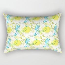 Swirls & Circles Rectangular Pillow
