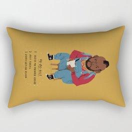 T to-do-list. Rectangular Pillow