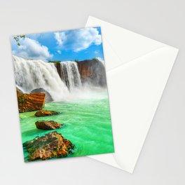 Dray Nur Waterfall Vietnam Ultra HD Stationery Cards