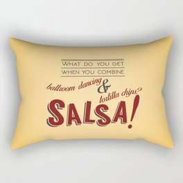 Salsa! Rectangular Pillow
