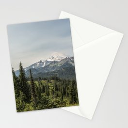 Mt Rainier from Naches Peak Loop Stationery Cards