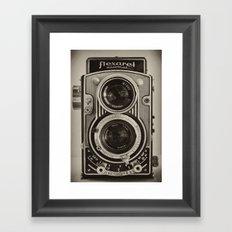 Flexaret | Vintage Camera Framed Art Print