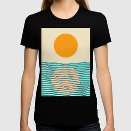 Ocean current T-shirt