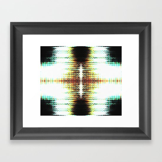 I Can Press Your Buttons Framed Art Print