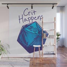 Crit Happens D20  Wall Mural