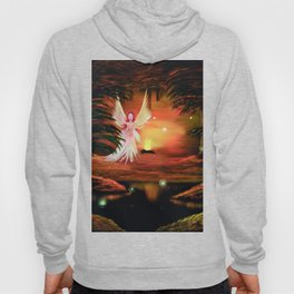 Wings to a flame Hoody