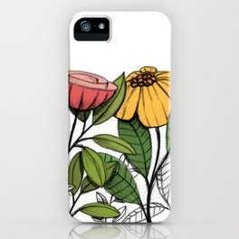 First summer blooms iPhone Case