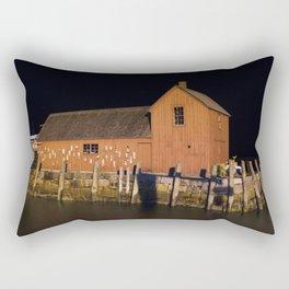 Night at Motif #1 Rectangular Pillow