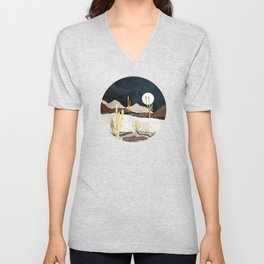 Desert View Unisex V-Neck