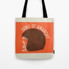Sons of Anarchy Skull Helmet Tote Bag