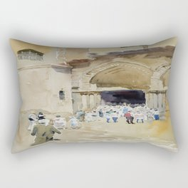 Church of the Holy Sepulchre Rectangular Pillow
