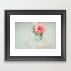 Fleur De L'amour Framed Art Print