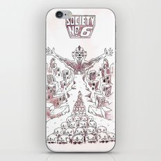 Society #6 iPhone & iPod Skin