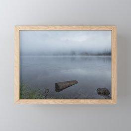 In A Fog Framed Mini Art Print