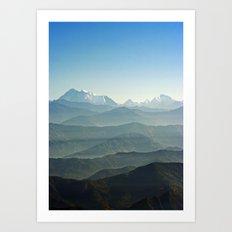 Hima - Layers Art Print