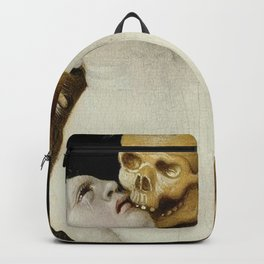 DEATH AND THE MATRON - HANS BALDUNG GRIEN Backpack