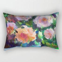 Roses and Fruits Rectangular Pillow