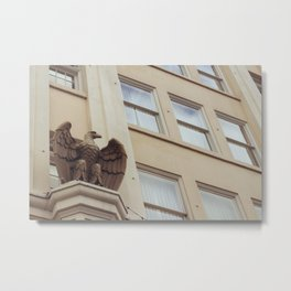 Bronze Eagle - Ashland, OR Metal Print
