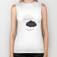 fault Biker Tanks featuring The Fault in Our Stars by thatfandomshop