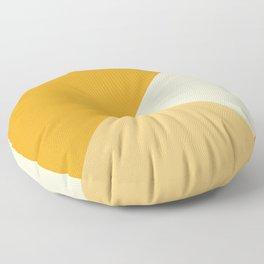 Mustard Tones Floor Pillow