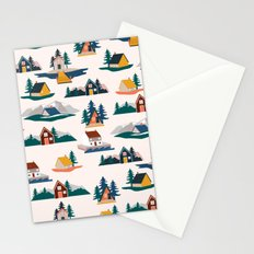 Let's stay here Stationery Cards