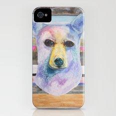 Bear Bust iPhone (4, 4s) Slim Case