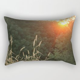 Simple Sunset Rectangular Pillow