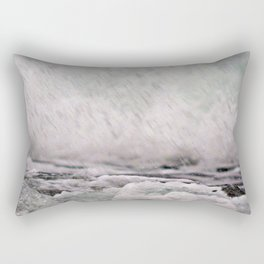 Under the Crashing Wave Rectangular Pillow