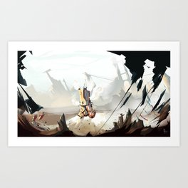 Steam Machine Art Print