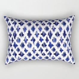 Shaking ultramarine Rectangular Pillow